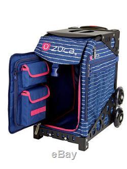 Zuca Sac Sport Ancre Mon Coeur Avec Un Cadeau Lunchbox Et Seat Cover (blue Frame)